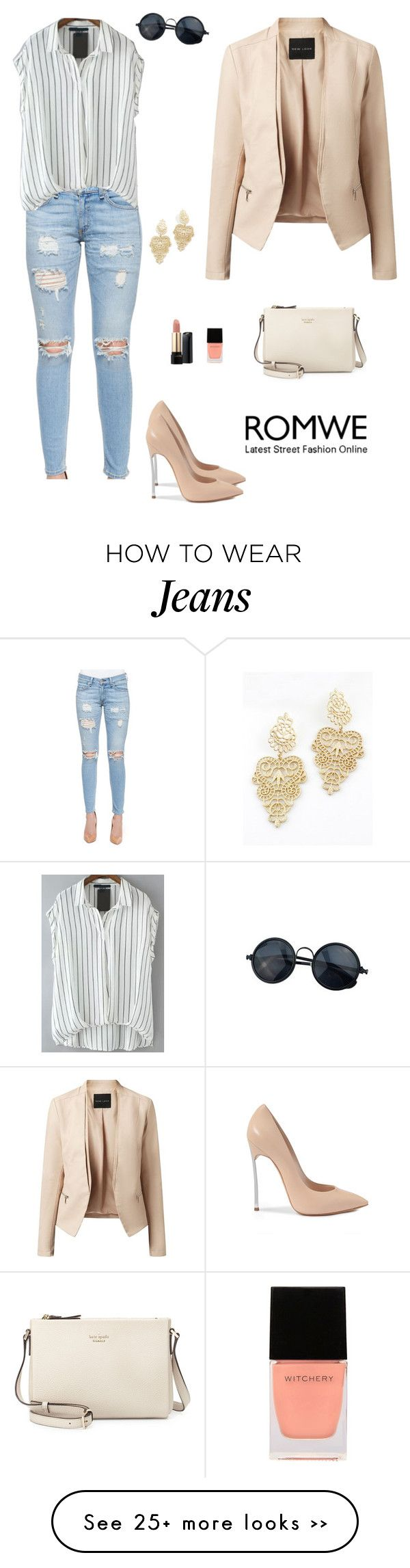 """Romwe 4"" by amra-f on Polyvore"