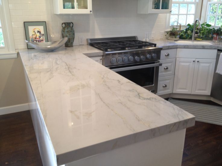 Best 25 engineered stone countertops ideas on pinterest Kitchen countertops quartz vs solid surface
