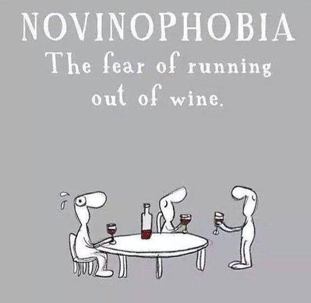 #wine #funny a brand new phobia !!! www.ramotnaftaly.com