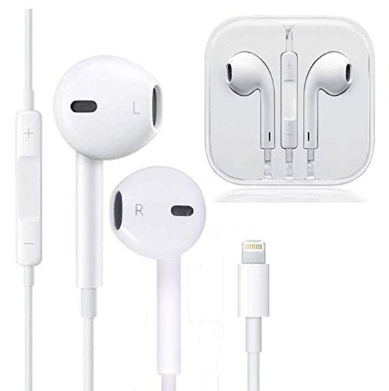 Amazon Com Zestychef Earbuds Microphone Earphones Stereo Headphones Noise Isolating Headset Fit Compatible With Iphone Xs Xr Earbuds Earphone Apple Headphone