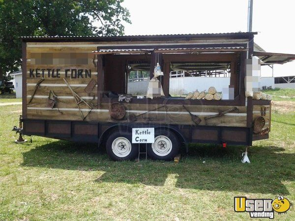 13' x 20' Kettle Corn Concession Trailer & Tent for Sale in Tennessee!!!