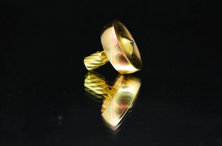 BilletSPIN Infinity, 3-color Mokume over Brass