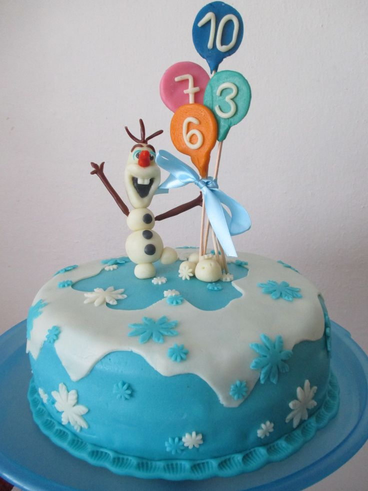 Olaf dortík pro 4 oslavence