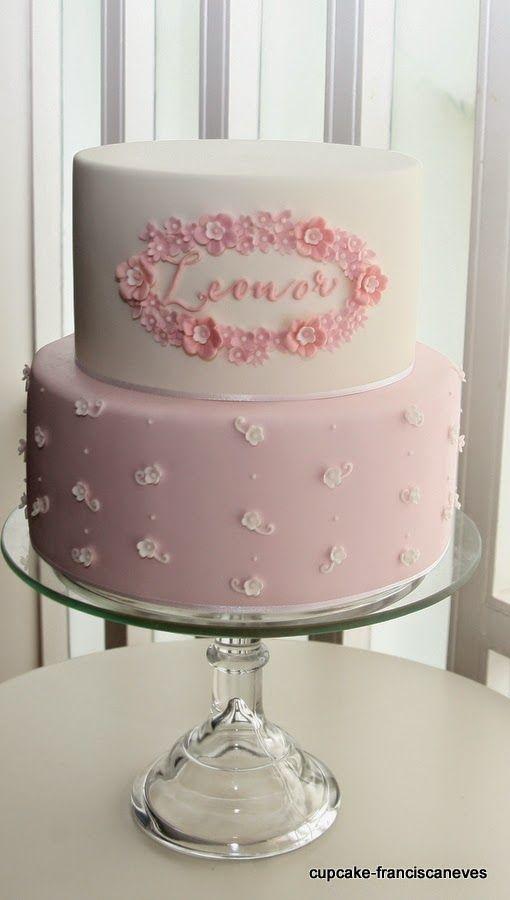 Cupcake: Batizados: menino e menina