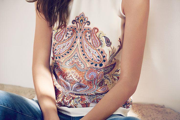 #esprit #paisleys #womenswear #colors #whites #summer