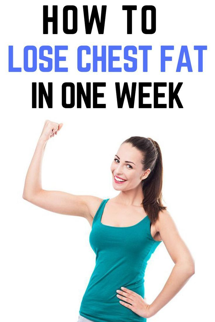 how to lose chest fat in 2 weeks