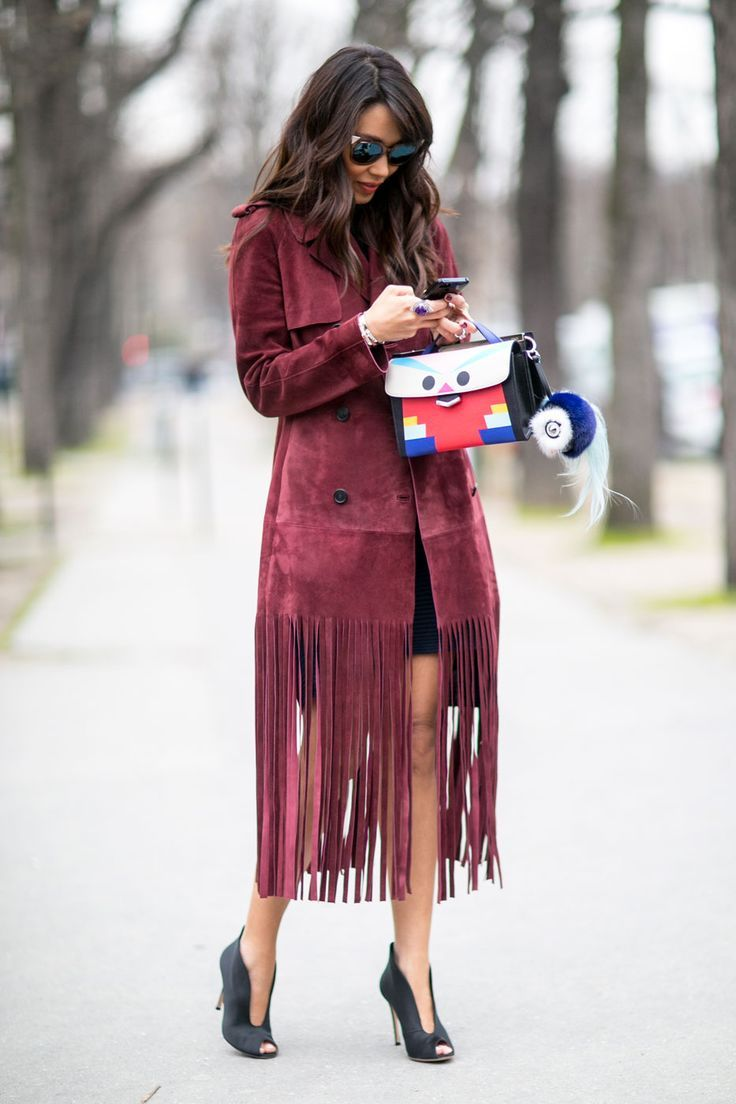 Urban Vogue Chic: fabulous fringing. Paris. By Deanna G #urbanvog...