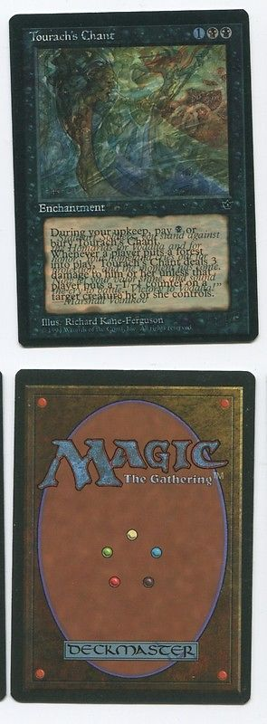 MTG Individual Cards 38292: Rare Mnt, Error Dual Printed Fallen Empire Mtg Tourach S Chant Vodalian Soldiers -> BUY IT NOW ONLY: $399.99 on eBay!