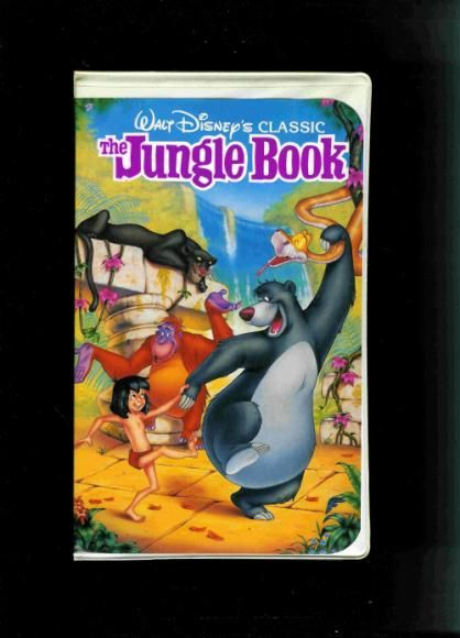 The Jungle Book Vhs The jungle book 1991 vhs we