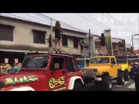 (VIDÉO). «Shake it» : 50 Taïwanaises font du pole dance sur des jeeps aux funérailles d'un politicien ~ DJN® Doc Jean-No® Plus