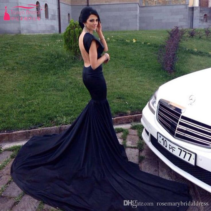 Black Mermaid Chiffon Prom Dresses Sexy Backless Elegant V Neck Off The Shoulder Evening Gowns Women Simple Formal Dresses Maternity Prom Dresses Off The Shoulder Prom Dresses From Rosemarybridaldress, $126.64| Dhgate.Com