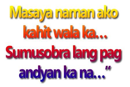 Miriam Tagalog Pick Up Lines