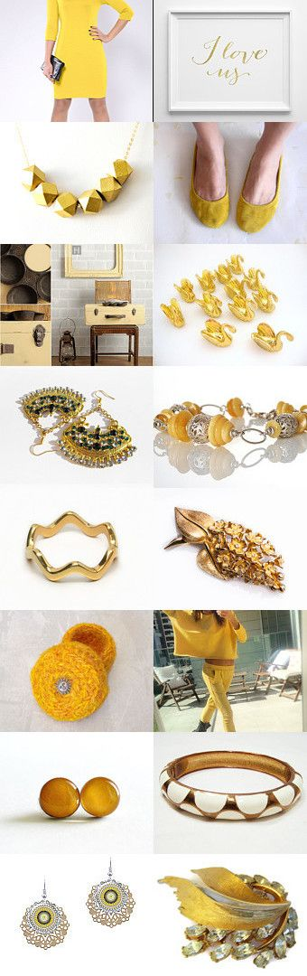 Gold by gicreazioni on Etsy--Pinned+with+TreasuryPin.com