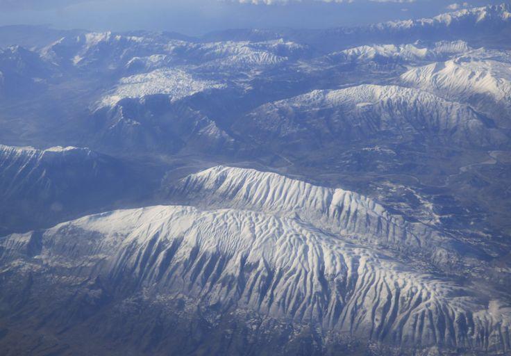 verschneite Berge, Foto: S. Hopp