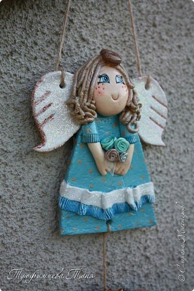 Ангел из соленого теста #ангел #поделки из соленого теста #оберег своими руками #подарок своими руками #ангелочек #angel