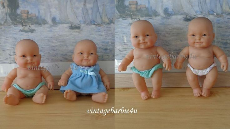 Berenguer Newborn Baby Doll Clothes Lot Teeth 8  Life Like Dress Diaper Tagged