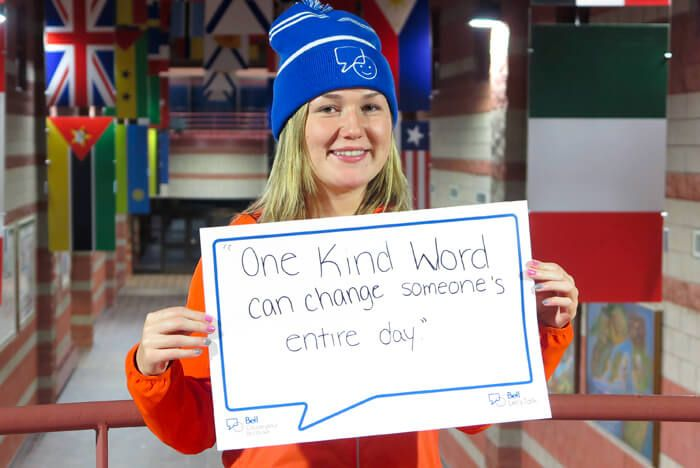 The annual Bell Let's Talk awareness campaign and Day is driving the national conversation to help reduce this stigma and promote awareness and understanding. #BellLetsTalk