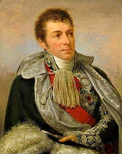 Portrait par Andrea Appiani (1754–1817): Berthier y porte la Légion d'honneur (écharpe et grand aigle) et l'Ordre de l'Aigle noir.- Chef d'etat-major de Bonaparte en Italie (1796-1797), puis en Egypte (1798-1799), il est nommé ministre de la Guerre en 1800. Chef nominal de l'armée de réserve, il remporte la victoire de Marengo (14 juin 1800). Maréchal en 1804, il est Grand Officier de la couronne (Gd Veneur).