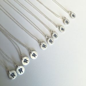 Tooth necklace for a dentist, dental hygienist, or dental assistant! www.hygieneedge.com