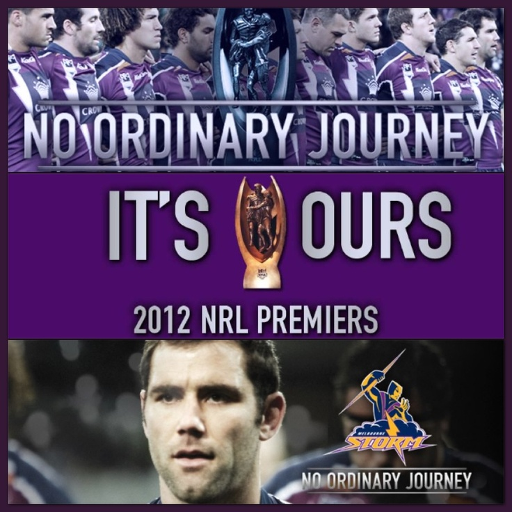Melbourne Storm NRL Premiers 2012