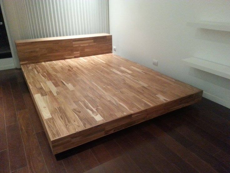 1000 images about camas en madera on pinterest for Como hacer una base de cama de madera