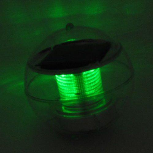 Solar al aire libre flotante luz LED para la piscina del jardín del paisaje (7colors cambio): Amazon.es: Iluminación