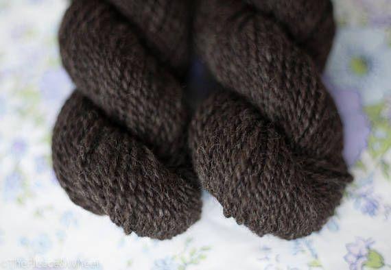 Hand Spun Yarn / Hand Spun Merino / Suri Alpaca / Knitting