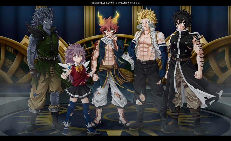 Fairy Tail 505 - Page 4 - Manga Stream - dragon force