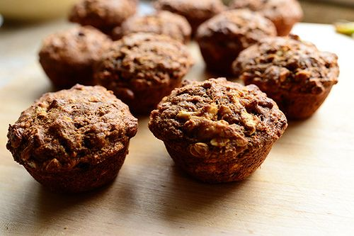 PW muffins, sound yummy.  I don't have molasses, but maybe honey or maple syrup would work instead.