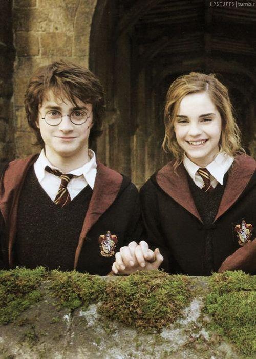 Harry & Hermione em o Cálice de Fogo (2005)