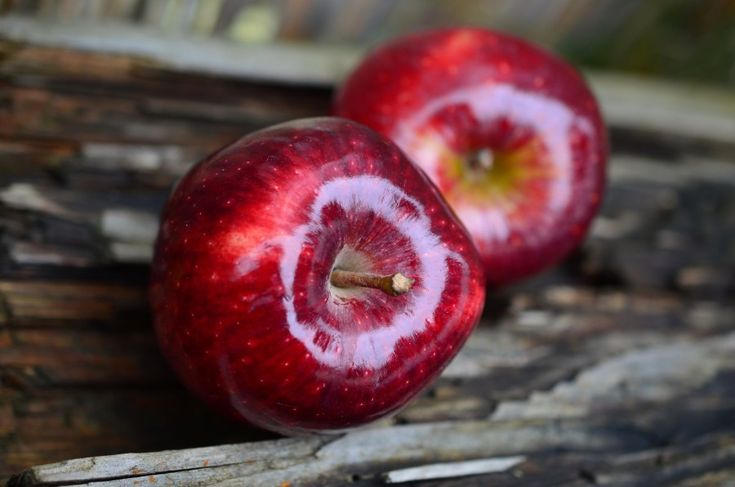 manzana, manzanas,roja, dos,fruta,fresco,