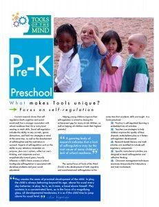 Tools of the MindPreschool Curriculum - Brochure 2014
