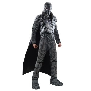 Man of Steel Kryptonian Nemesis Fancy Dress Costumes For Kids and Adults. Kryptonian Nemesis from Man of Steel now have there own Halloween and Fancy Dress costumes available for kids and adults. Just like the amazing Superman costumes available, these evil baddie costumes are sure to be a huge hit this year so be sure to get in there early.
