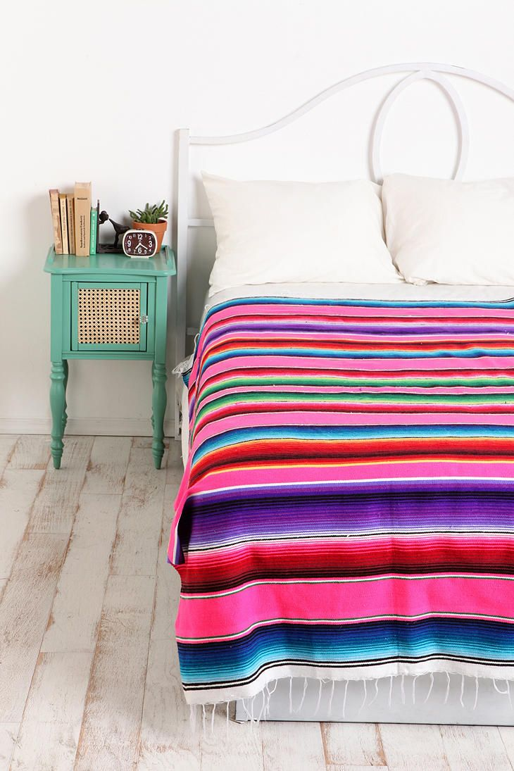 UrbanOutfitters.com > Serape Striped Blanket - holy crap i love it