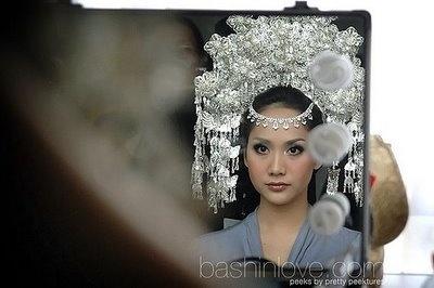 Padang's bride, west sumatera