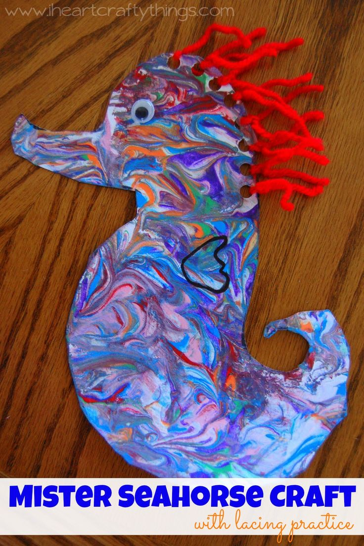 We read Eric Carle's Mister Seahorse this week and decided we wanted to couple the book with a seahorse craft. Since I want my preschooler to be able to tie his shoes before Kindergarten I loved this fabulous idea I saw for tying practice found at Making Learning Fun. {This post contains affiliate links, read our Disclosure …