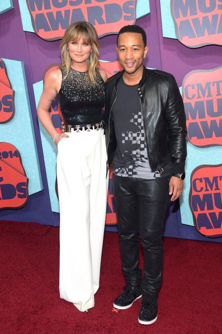 Pin for Later: Vive la country ! Découvrez toutes les stars aux CMT Awards ! Jennifer Nettles et John Legend