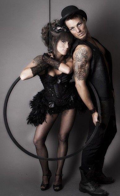 KALI - Black Swan Burlesque Dress Steampunk corset costume Prom Mardi Gras dress. $185.00, via Etsy.