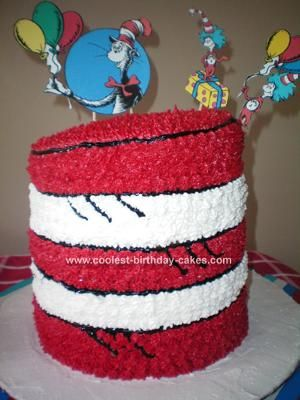 Cake Decorating Stores In Greensboro Nc : 42 Best images about Cakes - Cat in the Hat on Pinterest ...
