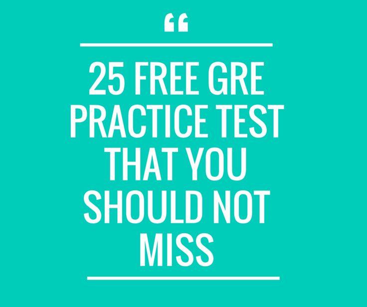 Free Gre practice Test online