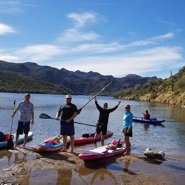 And That S How We Do Winter In Az Awesome Day At The Lake Sorryeastcoast January Desertlife Winter Arizona Riv Paddle Sports Desert Life Kayaking