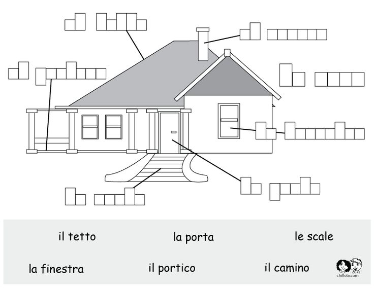 A large variety of Italian vocabulary worksheets at this link. Some can be very useful, but watch out, because some of them contain mistakes (!) - some are so absurd that they can only have been generated by an automatic translator. Only use for your child if your Italian is good enough to spot the errors.