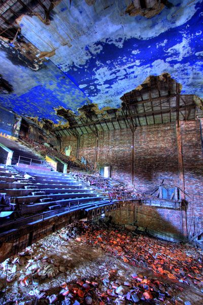 Gary Palace Theater, Gary IN  Abandoned Indiana