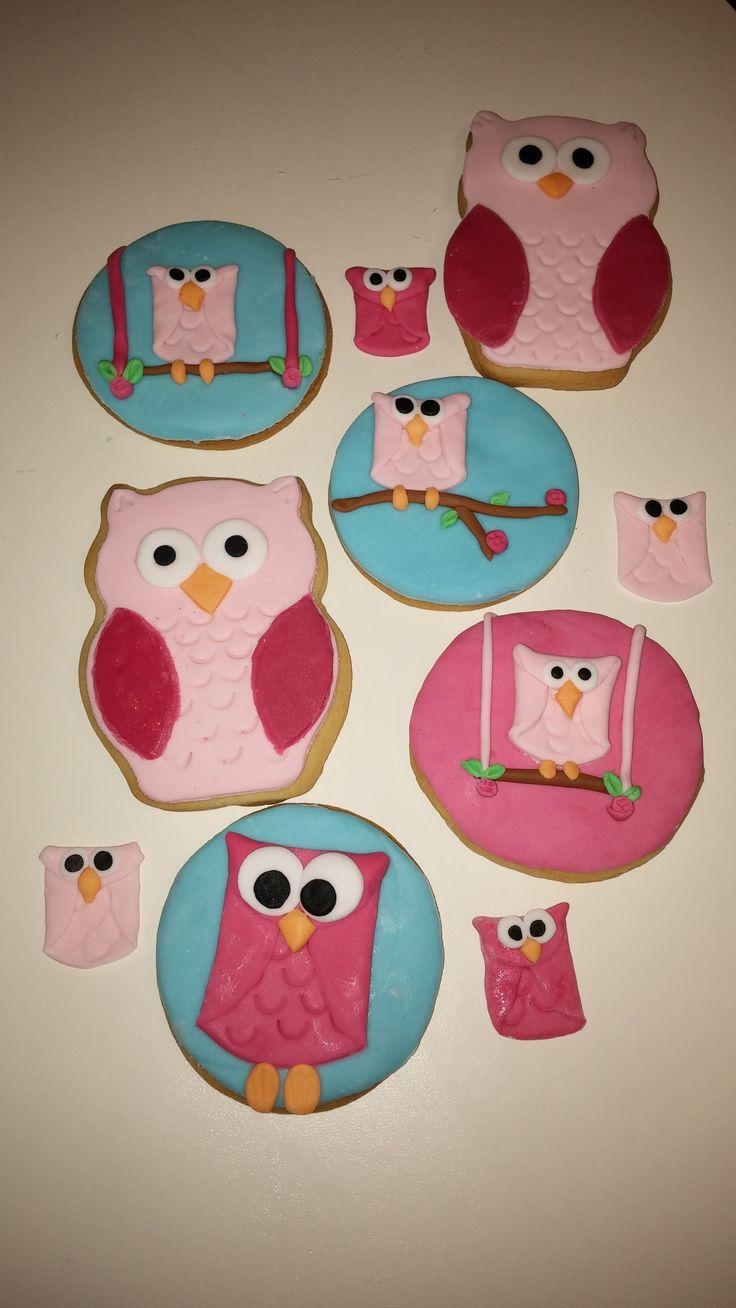 Owl cookies by Konstantina Chalkia