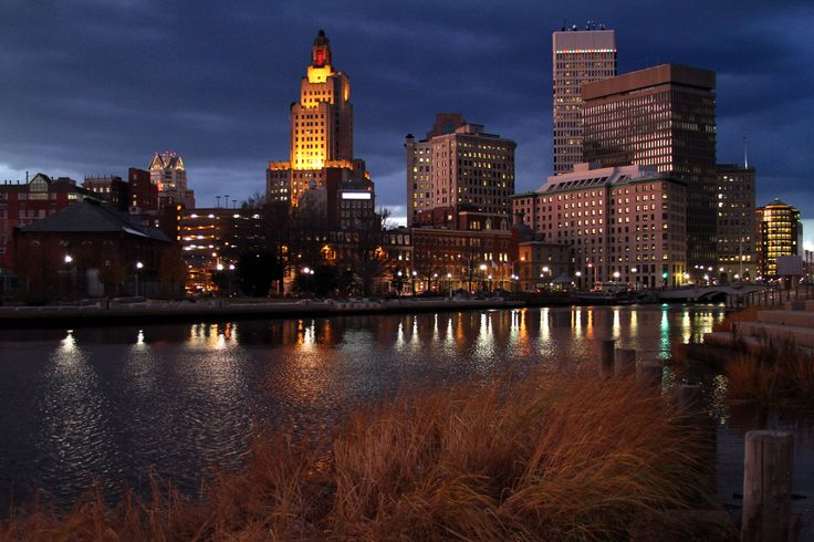 Providence Skyline River View