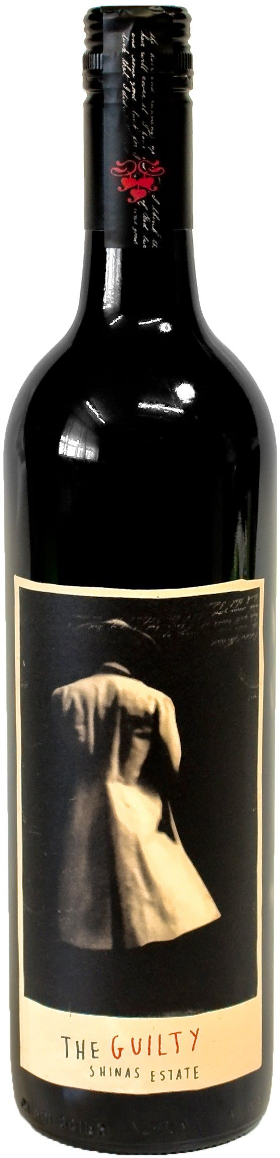 "Shinas Estate ""The Guilty"" Shiraz (2010) Red Wine http://www.topaustralianwines.com.au/shinas-estate-the-guilty-shiraz-2010-red-wine"