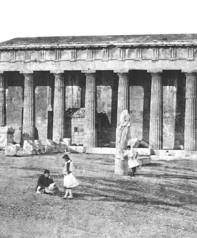 James Robertson and Felice Beato, Σεπτέμβριος 1855, Αθήνα, Θησείο.