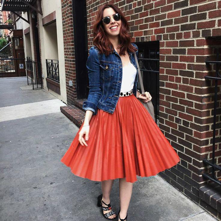 As melhores saias midi do Instagram - Moda it