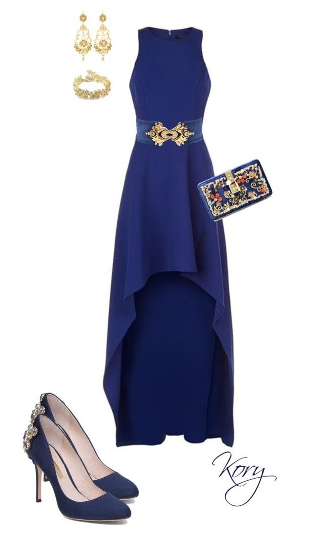 """&"" by cory84 on Polyvore featuring BCBGMAXAZRIA, Louise et Cie, Balmain, Jose & Maria Barrera, Chanel and Dolce&Gabbana"