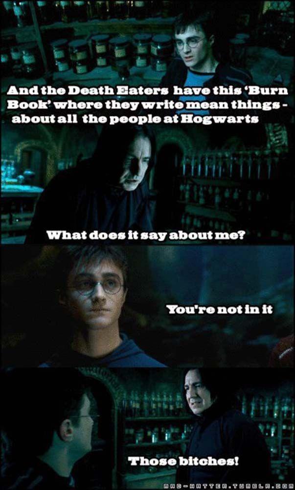Funny Meme Mashups : Best quot harry potter mean girls mash up memes on the